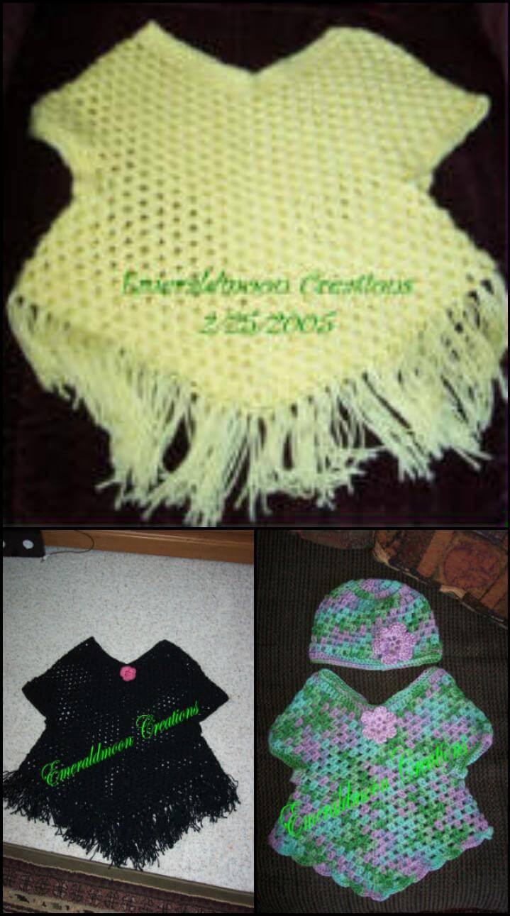 Unique 50 Free Crochet Poncho Patterns for All Diy & Crafts Crochet Poncho Sweater Of Innovative 44 Pictures Crochet Poncho Sweater