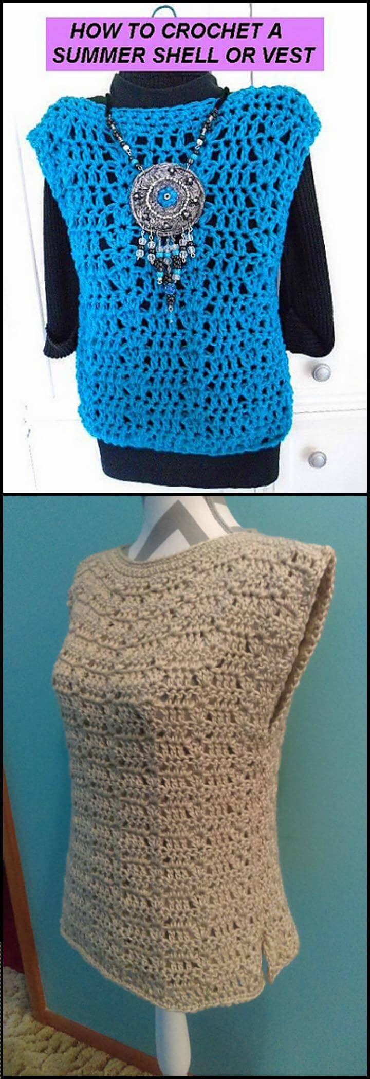 Unique 50 Quick & Easy Crochet Summer tops Free Patterns Crochet tops Patterns Of Innovative 49 Photos Crochet tops Patterns