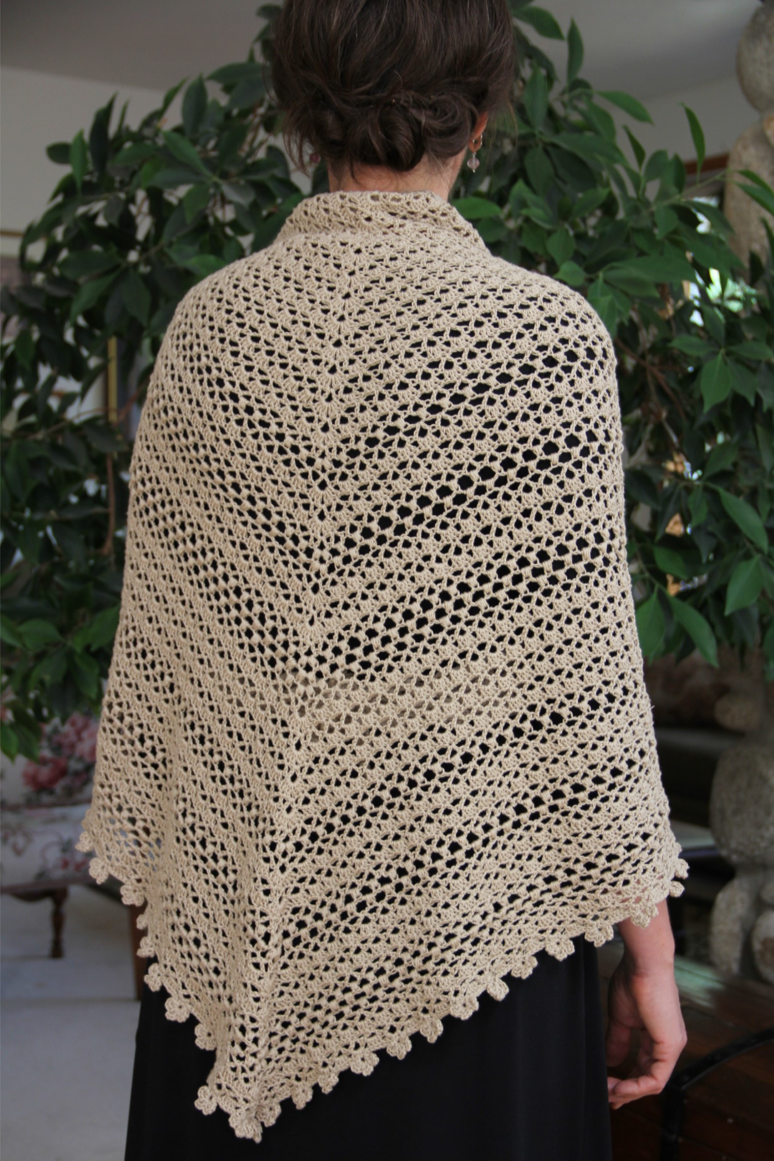 Unique 58 Shawl Crochet Pattern Free Crochet Pattern Wrap Shawl Prayer Shawl Patterns Free Of Charming 45 Models Prayer Shawl Patterns Free
