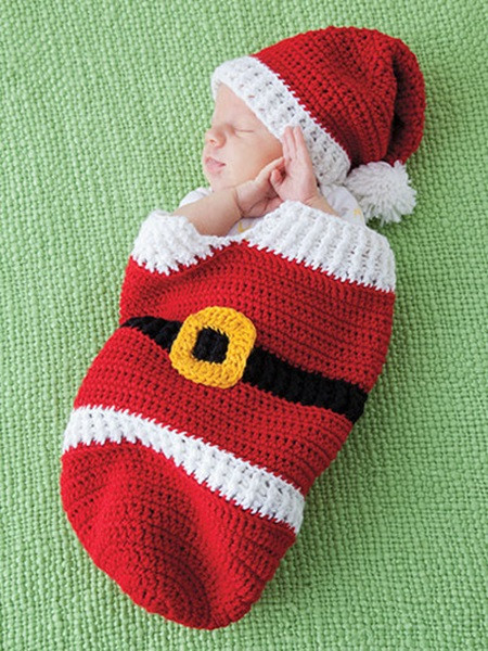 Unique 8 Cutest Christmas Crochet Cocoon Patterns Baby Christmas Hat Of Brilliant 46 Photos Baby Christmas Hat