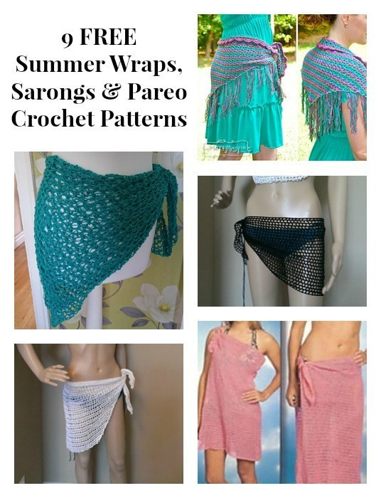 Unique 9 Free Summer Wraps Sarongs & Pareo Crochet Patterns Crochet Sarong Of Adorable 35 Photos Crochet Sarong