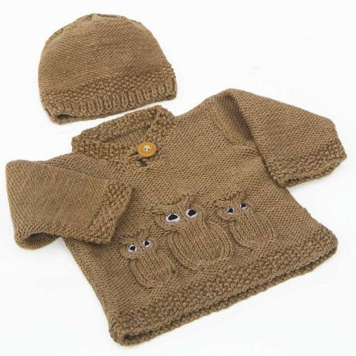 Unique 962 Best Images About Baby Sweaters On Pinterest Knitted Owl Hat Of Amazing 40 Photos Knitted Owl Hat