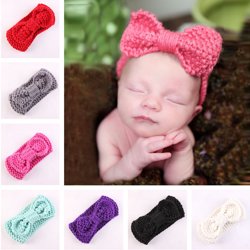 Aliexpress Buy 1 x Baby Girls Crochet Headband