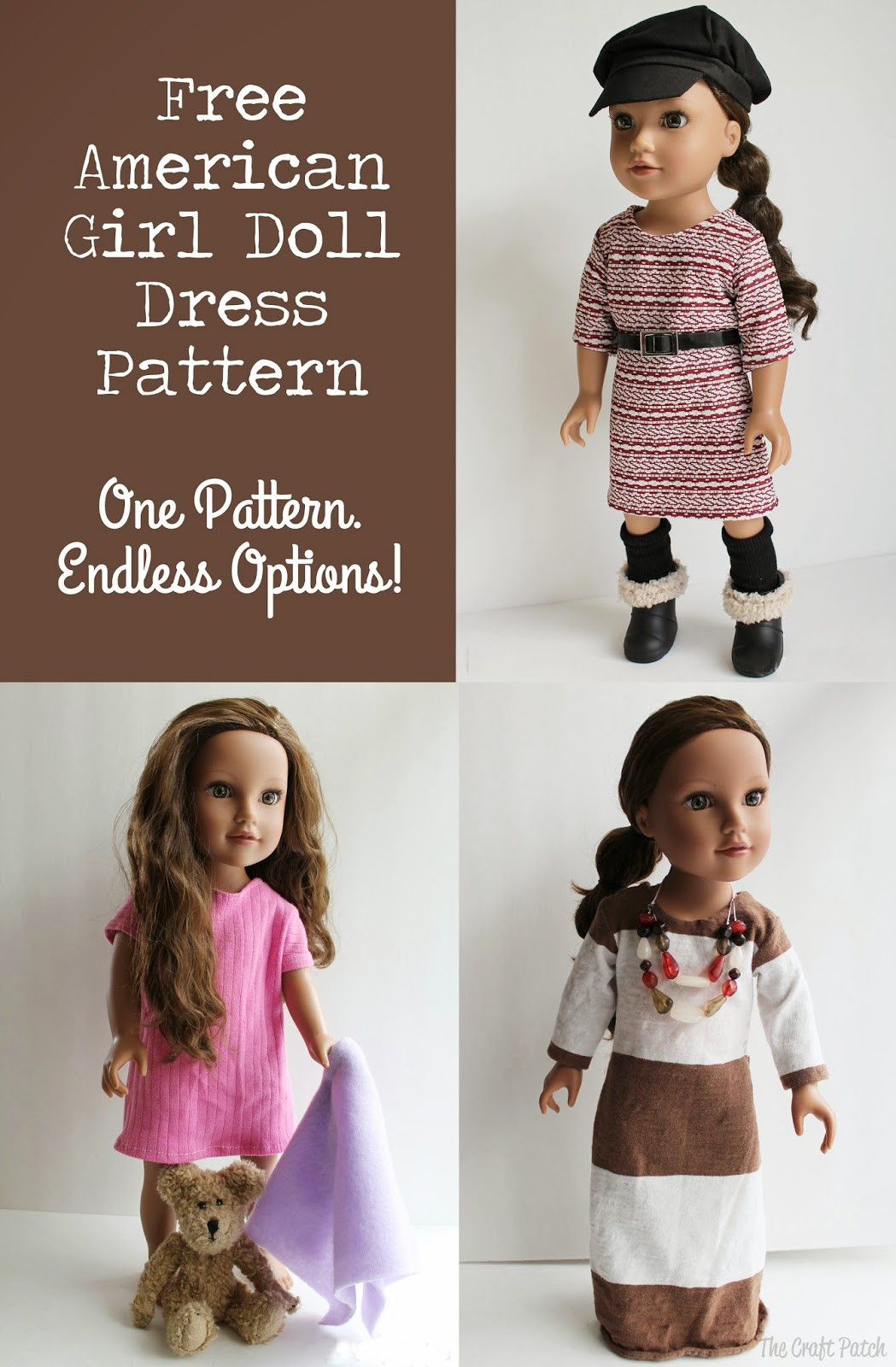 Unique American Girl Doll Basic Knit Dress Pattern and Tutorial American Girl Doll Dress Patterns Of Incredible 48 Models American Girl Doll Dress Patterns