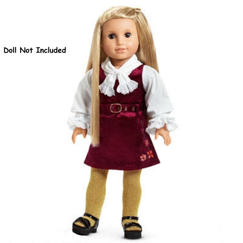 Unique American Girl Julie S Christmas Outfit Dress Nib Shoes American Girl Doll Christmas Outfits Of Wonderful 40 Ideas American Girl Doll Christmas Outfits