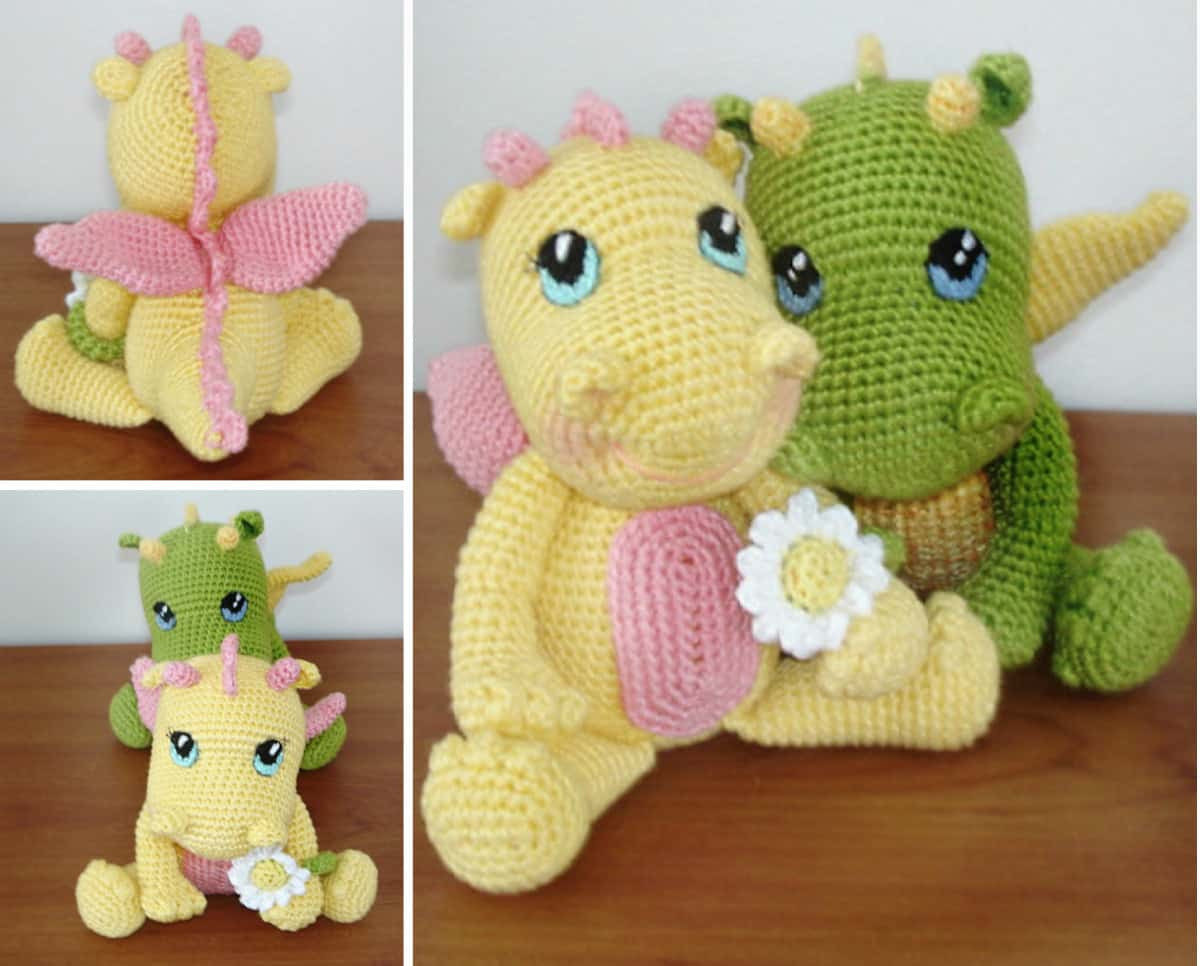 Unique Amigurumi Baby Dragon Crochet Pattern Video Tutorial Baby Patterns Of New 50 Ideas Baby Patterns