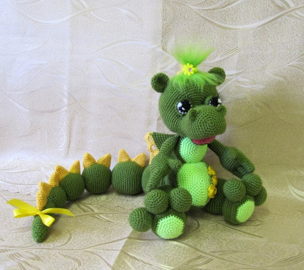 Unique Amigurumi Baby Dragon Crochet Pattern Video Tutorial Crochet Dragon Pattern Of Brilliant 50 Pictures Crochet Dragon Pattern
