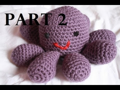Unique Amigurumi Octopus Crochet Tutorial Part 2 Youtube Crochet Tutorial Videos Of Lovely 41 Photos Youtube Crochet Tutorial Videos