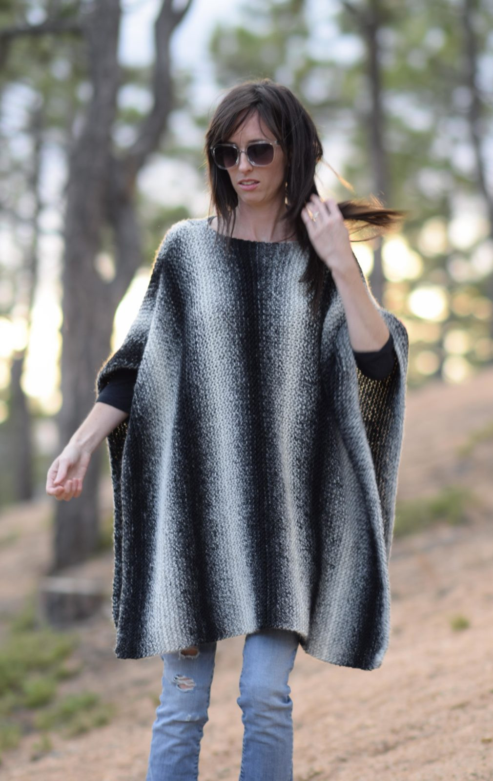 Unique aspen Relaxed Knit Poncho Pattern – Mama In A Stitch Free Poncho Knitting Patterns Of Incredible 43 Models Free Poncho Knitting Patterns