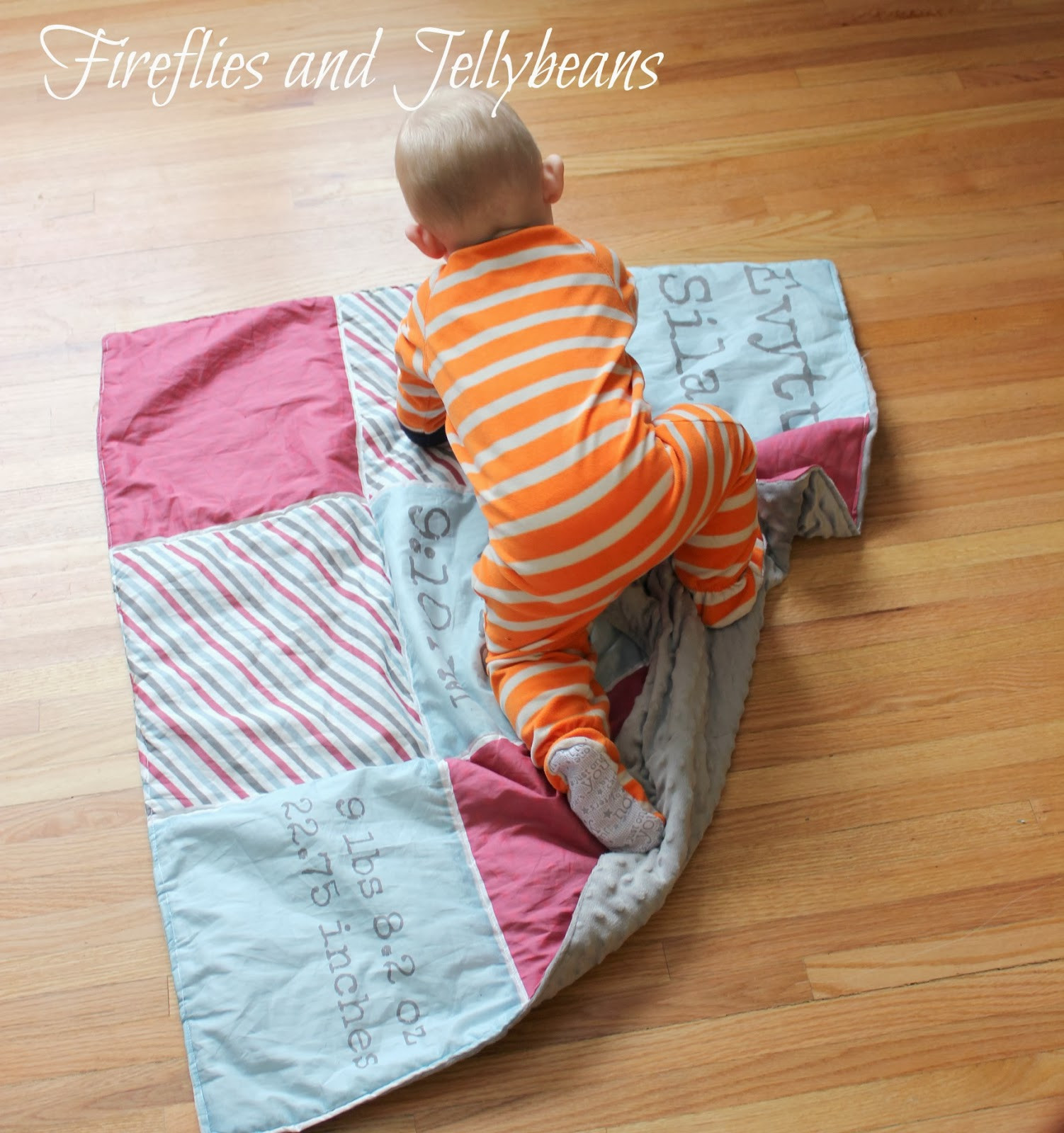 Unique Baby Blankets Awesome Fireflies and Jellybeans Easy Personalized Baby Blanket Of Innovative 40 Ideas Unique Baby Blankets