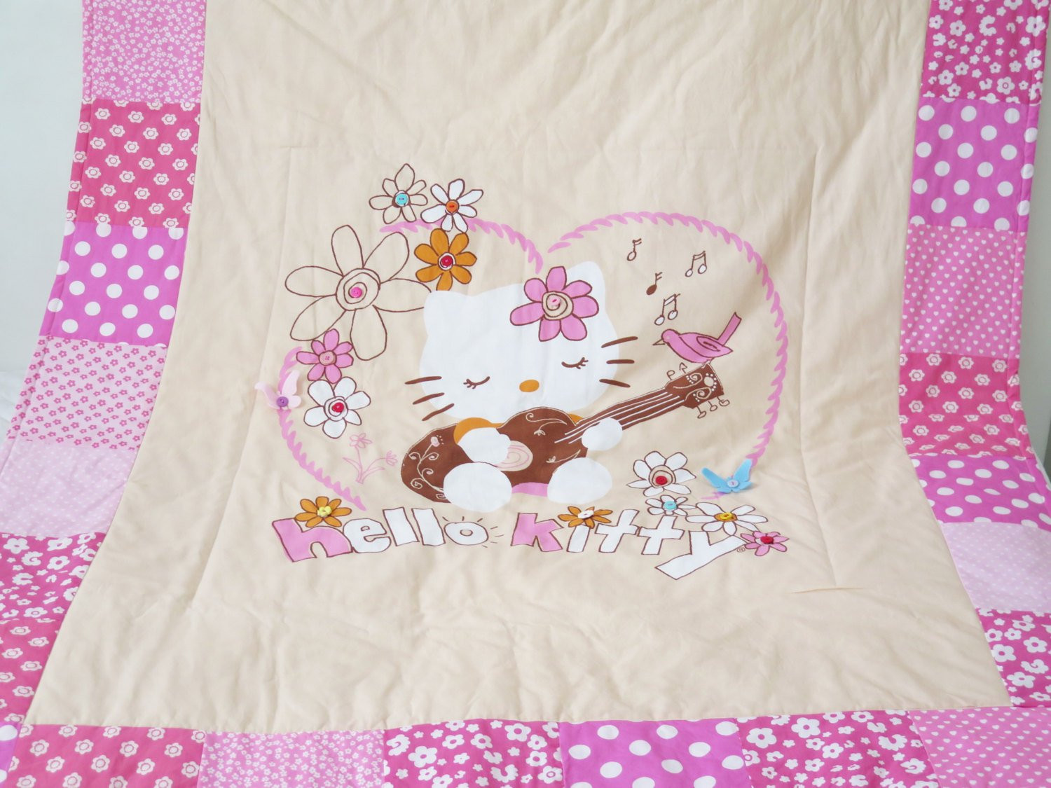 Unique Baby Blankets Awesome Hello Kitty Quilt Blanket Personalized Baby Blankets Of Innovative 40 Ideas Unique Baby Blankets