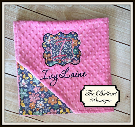 Unique Baby Blankets Beautiful Personalized Baby Minky Blanket Of Innovative 40 Ideas Unique Baby Blankets