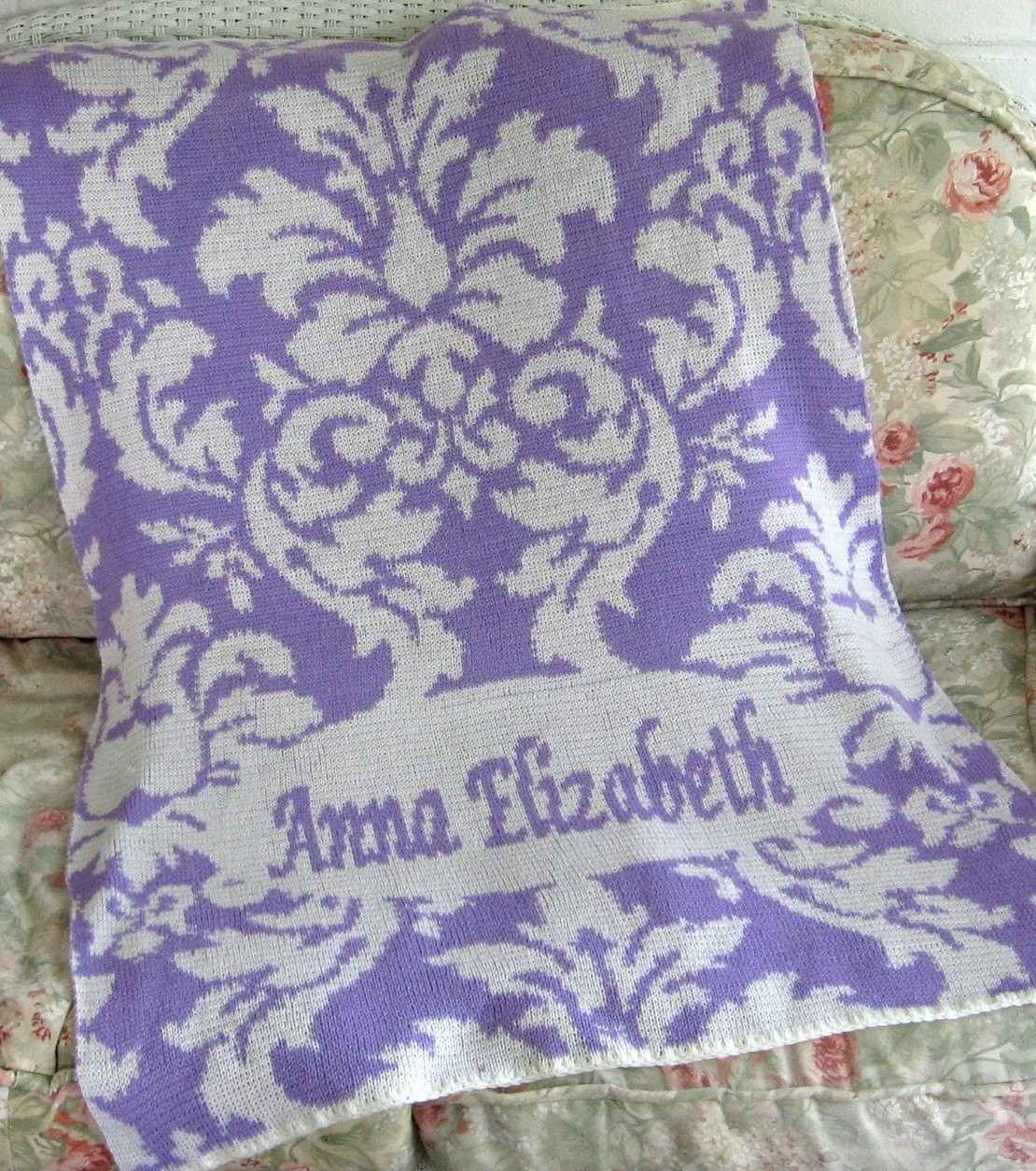 Unique Baby Blankets Inspirational Personalized Knit Damask Baby Blanket Of Innovative 40 Ideas Unique Baby Blankets