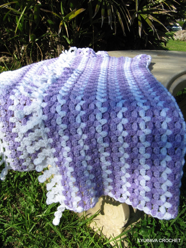 The gallery for Unique Crochet Blanket Pattern