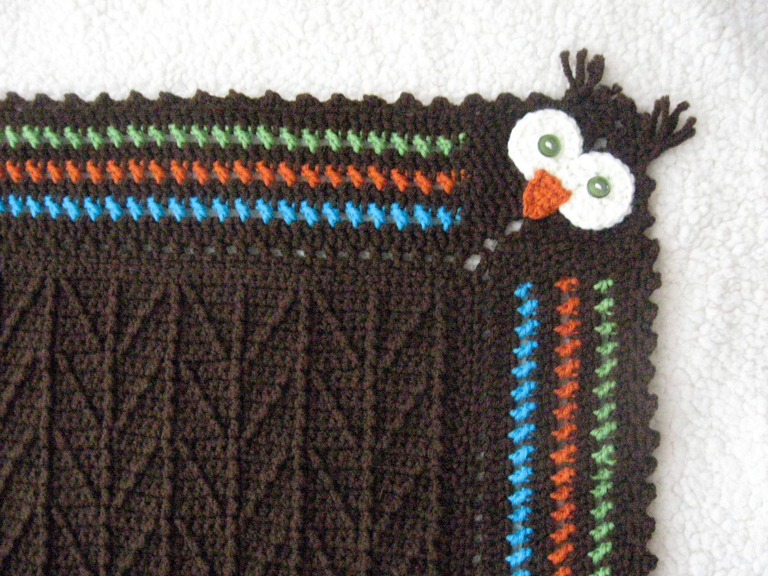 Unique Baby Blankets Unique Unique Crocheted Owl Blanket with Branch Stitch Pattern Of Innovative 40 Ideas Unique Baby Blankets