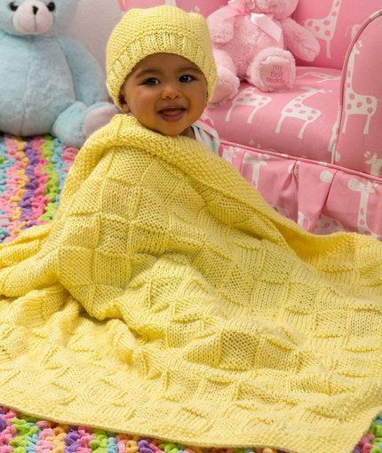 Unique Baby Blocks Blanket and Hat Set Free Knitting Pattern From Red Heart Free Knitting Patterns Of Unique 34 Models Red Heart Free Knitting Patterns
