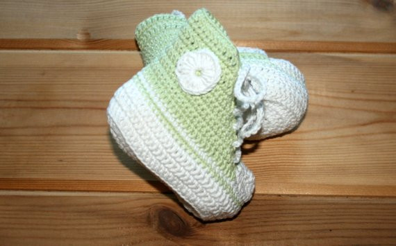 Unique Baby Converse Shoes Crochet Baby Booties Etsy Baby Crochet Converse Baby Booties Of Wonderful 41 Models Crochet Converse Baby Booties