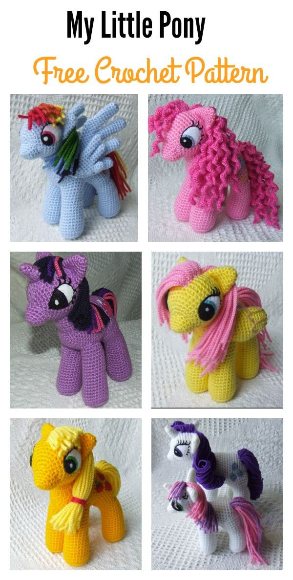 Unique Baby Knitting Patterns Free Awesome My Little Pony toy My Little Pony Crochet Pattern Of Brilliant 49 Ideas My Little Pony Crochet Pattern