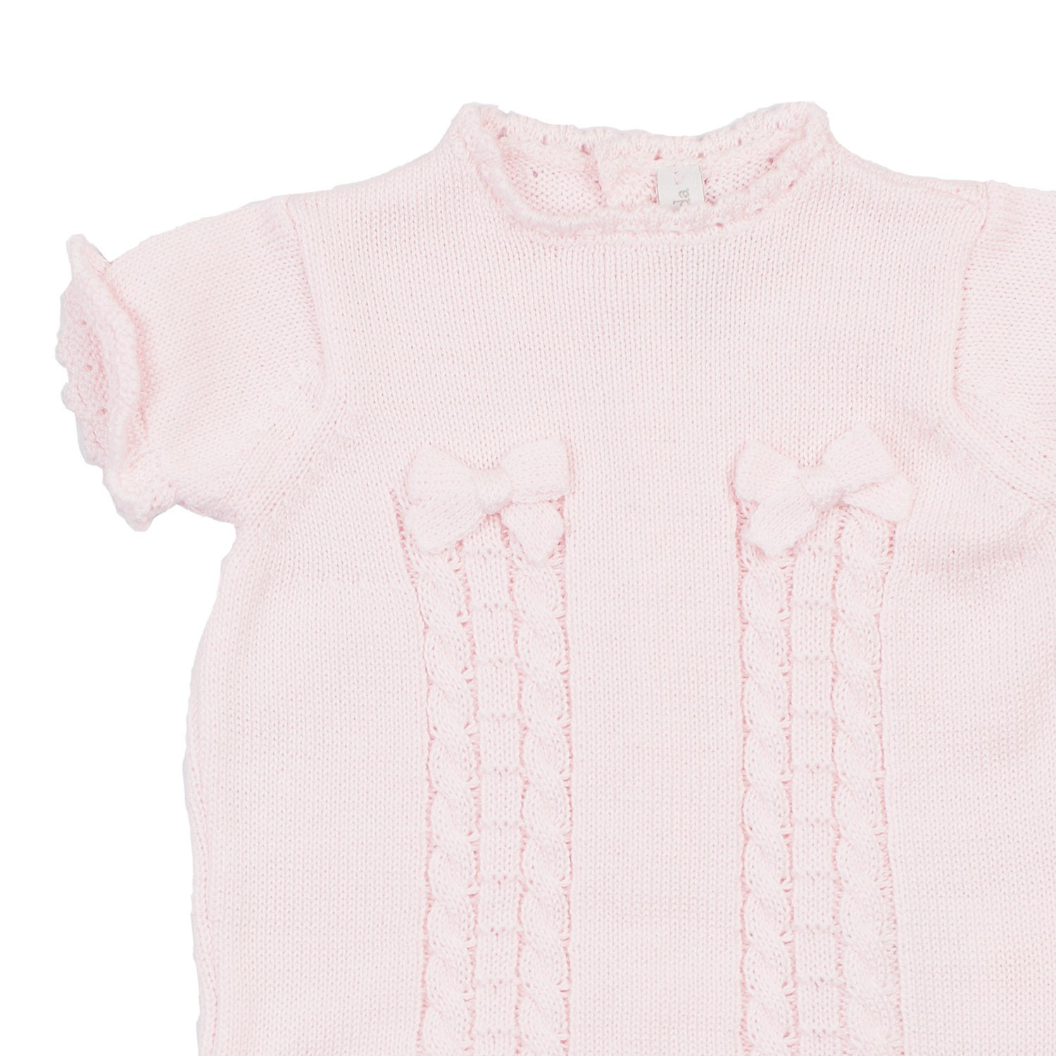 Unique Baby Pink Knitted Romper Knitted Baby Romper Of Amazing 42 Ideas Knitted Baby Romper