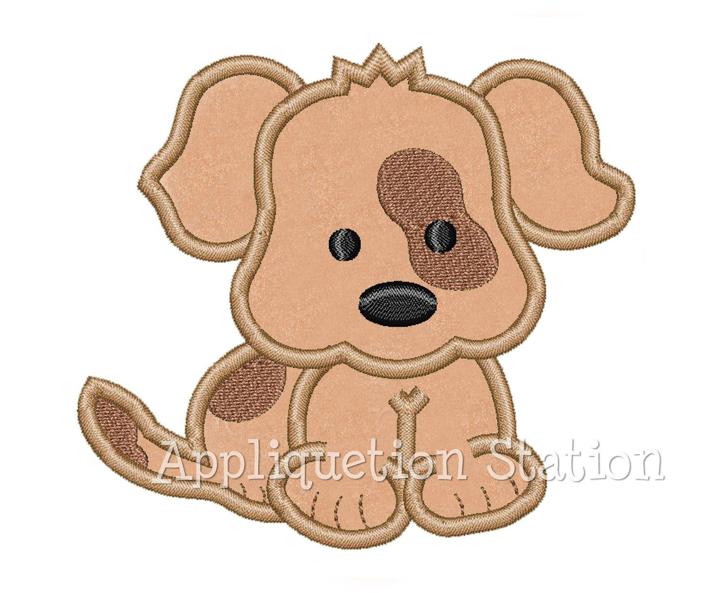 Unique Baby Puppy Dog Patch Over Eye Spot Applique Machine Baby Embroidery Of Gorgeous 42 Ideas Baby Embroidery