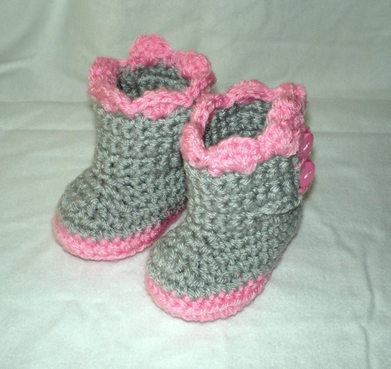 Unique Baby Uggs Baby Booties Baby Boots Crochet Baby Uggs Crochet Ugg Boots Of Beautiful 42 Ideas Crochet Ugg Boots