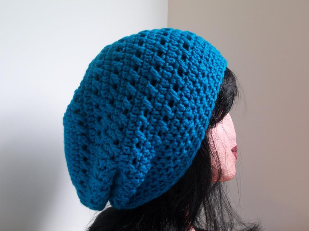 Bad Hair Day 10 Crochet Patterns for Slouchy Hats