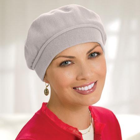 Unique Bald Woman In Wigs and Turbans Knit Hats for Cancer Patients Of New 48 Models Knit Hats for Cancer Patients