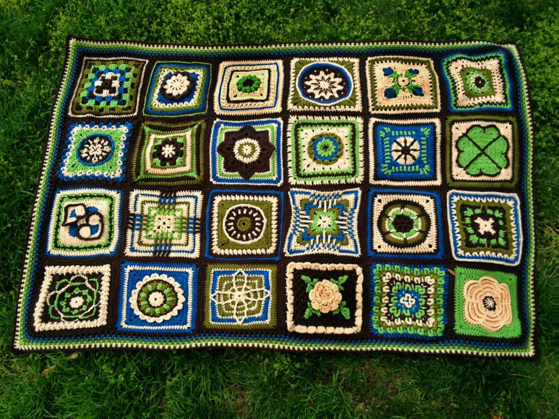 "Unique ""bawl"" Done Crochet Sampler Afghan Mellie Blossom Crochet Sampler Afghan Of Attractive 47 Pictures Crochet Sampler Afghan"