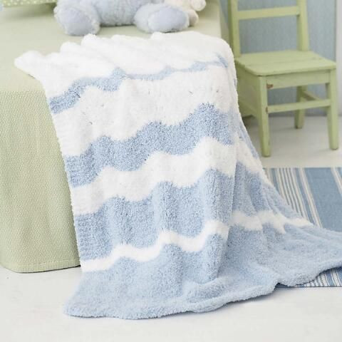 Unique Bernat Fading Waves Baby Blanket Knit Afghan Kit Was $36 Baby Blanket Kits Of Delightful 48 Pictures Baby Blanket Kits