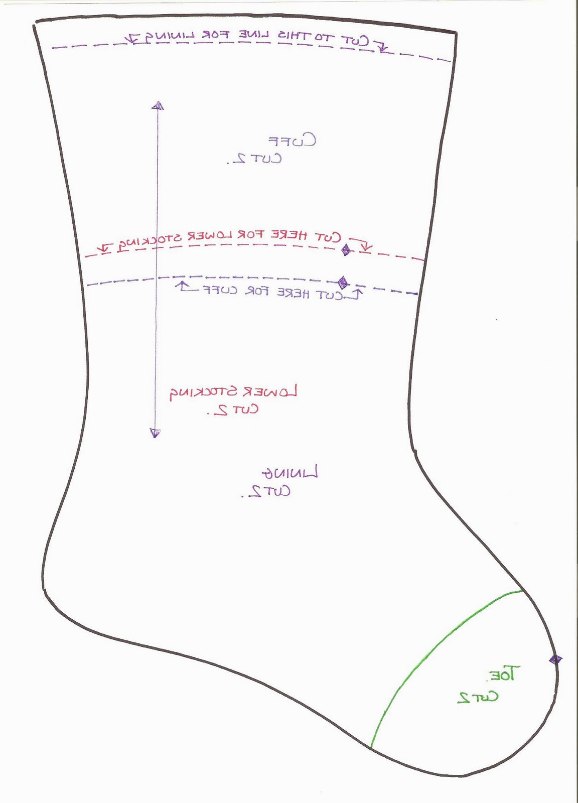 Unique Best S Of Christmas Stocking Sewing Pattern Free Free Christmas Stocking Pattern Of New 50 Images Free Christmas Stocking Pattern