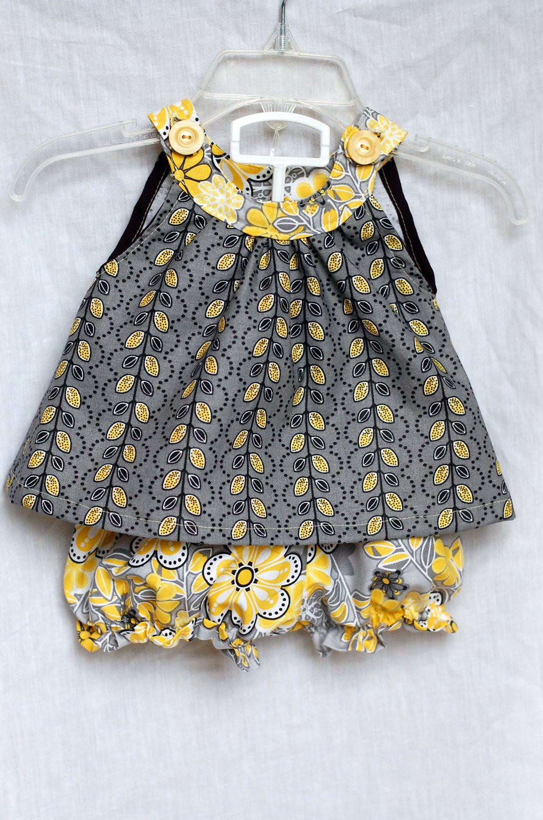 Unique Beth Being Crafty Yellow Gray = Cute Summer Clothes Baby Dress Patterns Of Perfect 47 Models Baby Dress Patterns
