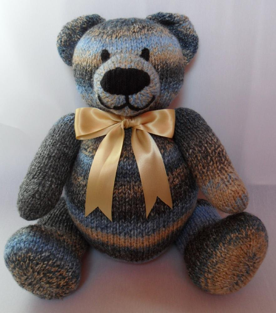 Unique Big Berry Bear Teddy Knitting Pattern by Laineknits Knitted Teddy Bear Of Amazing 45 Ideas Knitted Teddy Bear