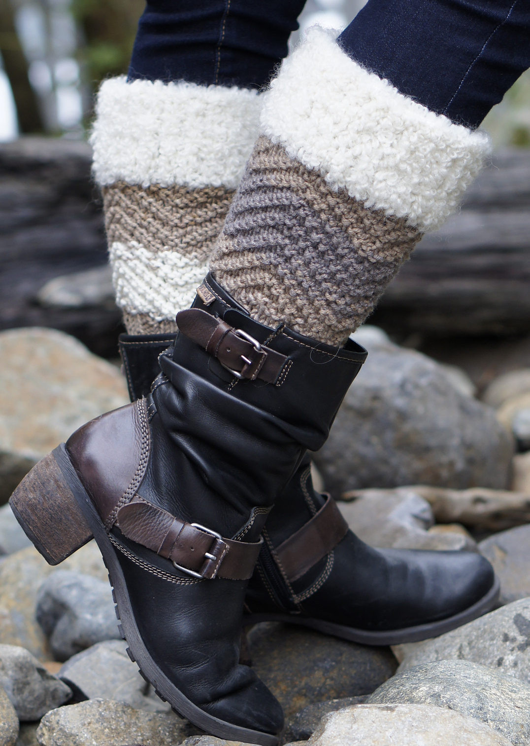 Unique Boot Cuff Knitting Patterns Knitted Boot Cuffs Of Great 41 Photos Knitted Boot Cuffs