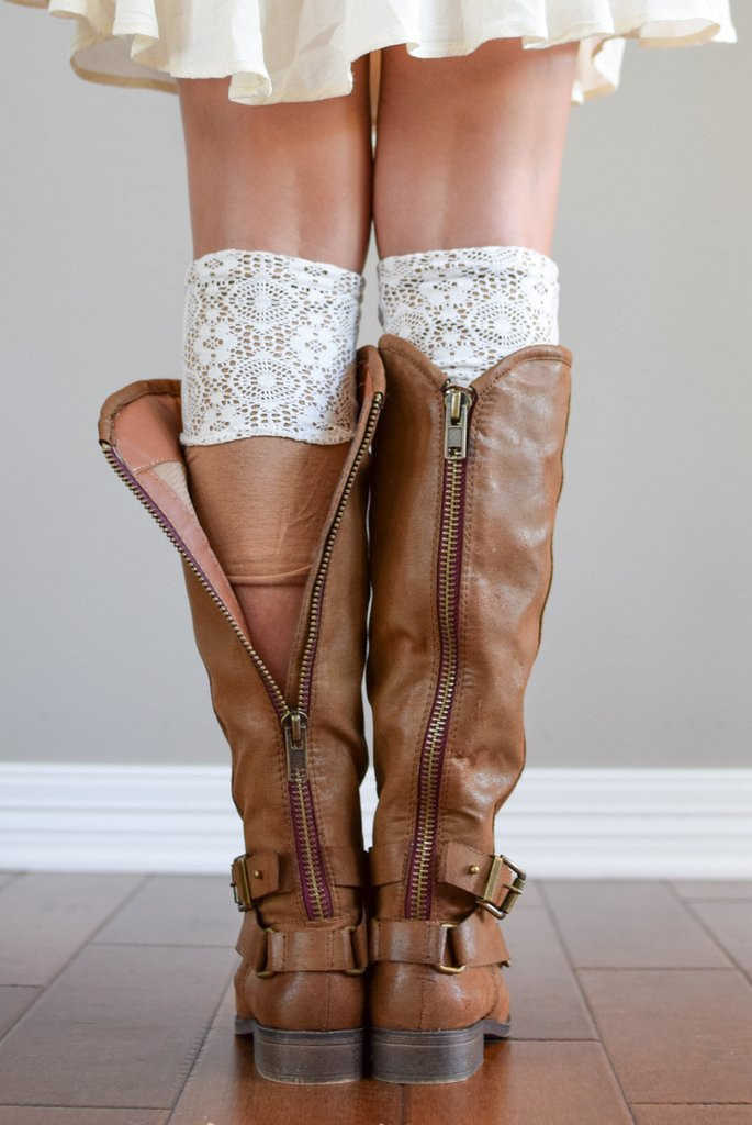 Unique Boot socks Cuffs & Boot toppers for Women Lace Boot Cuffs Of Awesome 50 Pictures Lace Boot Cuffs