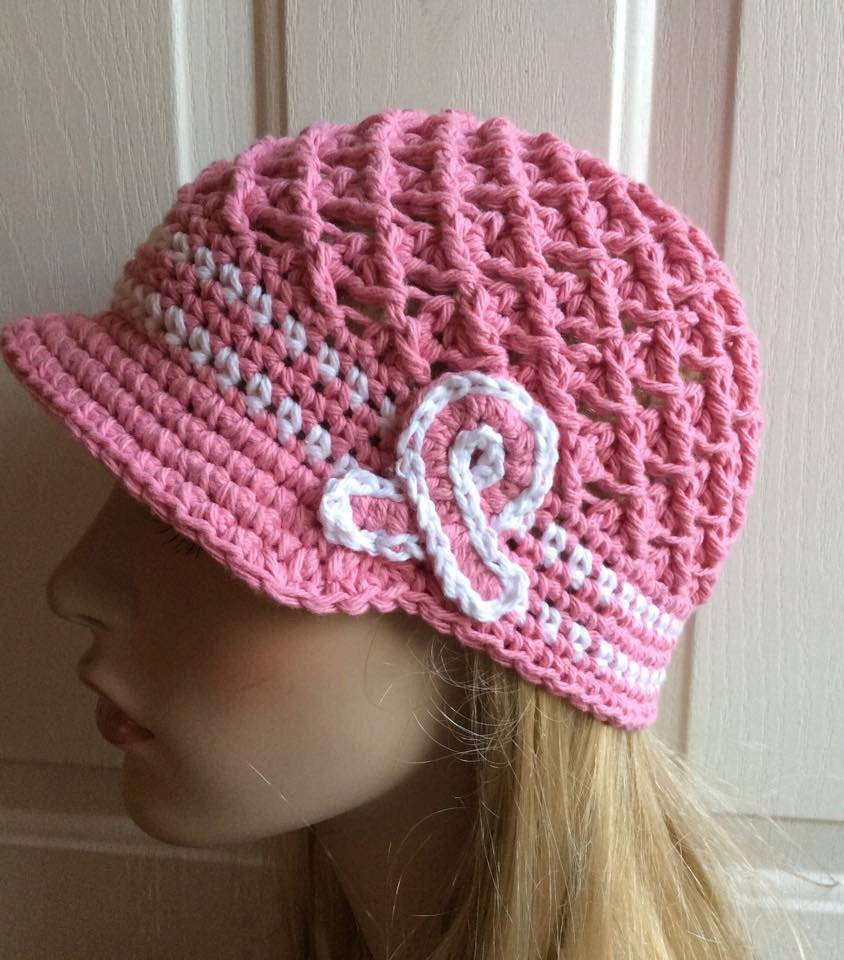 Unique Breast Cancer Awareness Crochet Hat Pink Chemo Cap Breast Crochet Chemo Hats Of Adorable 42 Images Crochet Chemo Hats