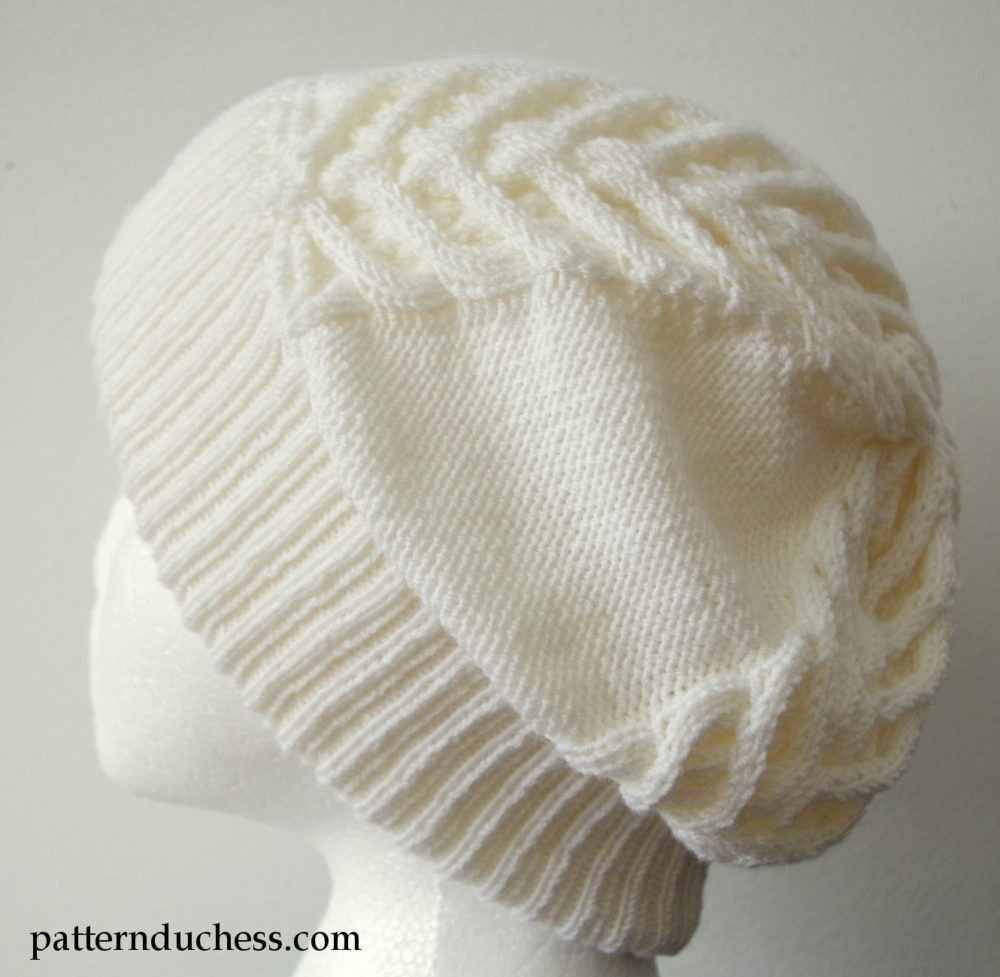 Unique Cable Knit Slouchy Hat with Brim Cable Hat Pattern Of New 40 Models Cable Hat Pattern