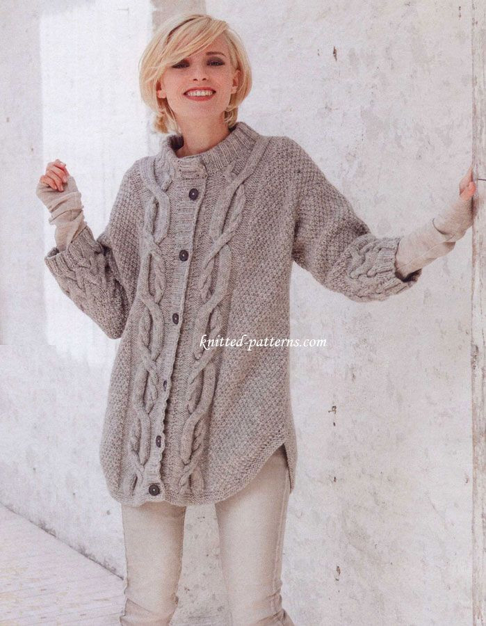 Unique Cable Pattern Cardigan Free Pattern Alpaca Mix Cables Cable Knit Sweater Pattern Of Luxury Sweater Coat Knitting Pattern Pdf Cable Knit A Line Coat Cable Knit Sweater Pattern