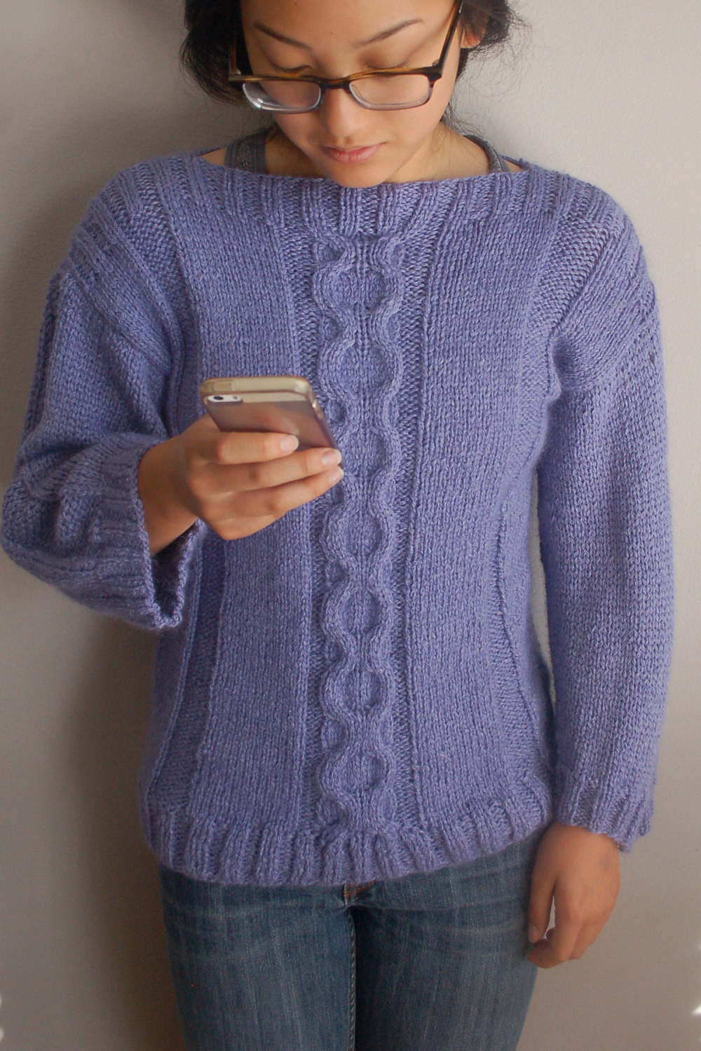 "Unique Cable Sweater Knitting Pattern Easy to Knit Pullover Cable Knit Sweater Pattern Of New Lace & Cable Sweater Dk Wool 30"" 40"" Knitting Cable Knit Sweater Pattern"
