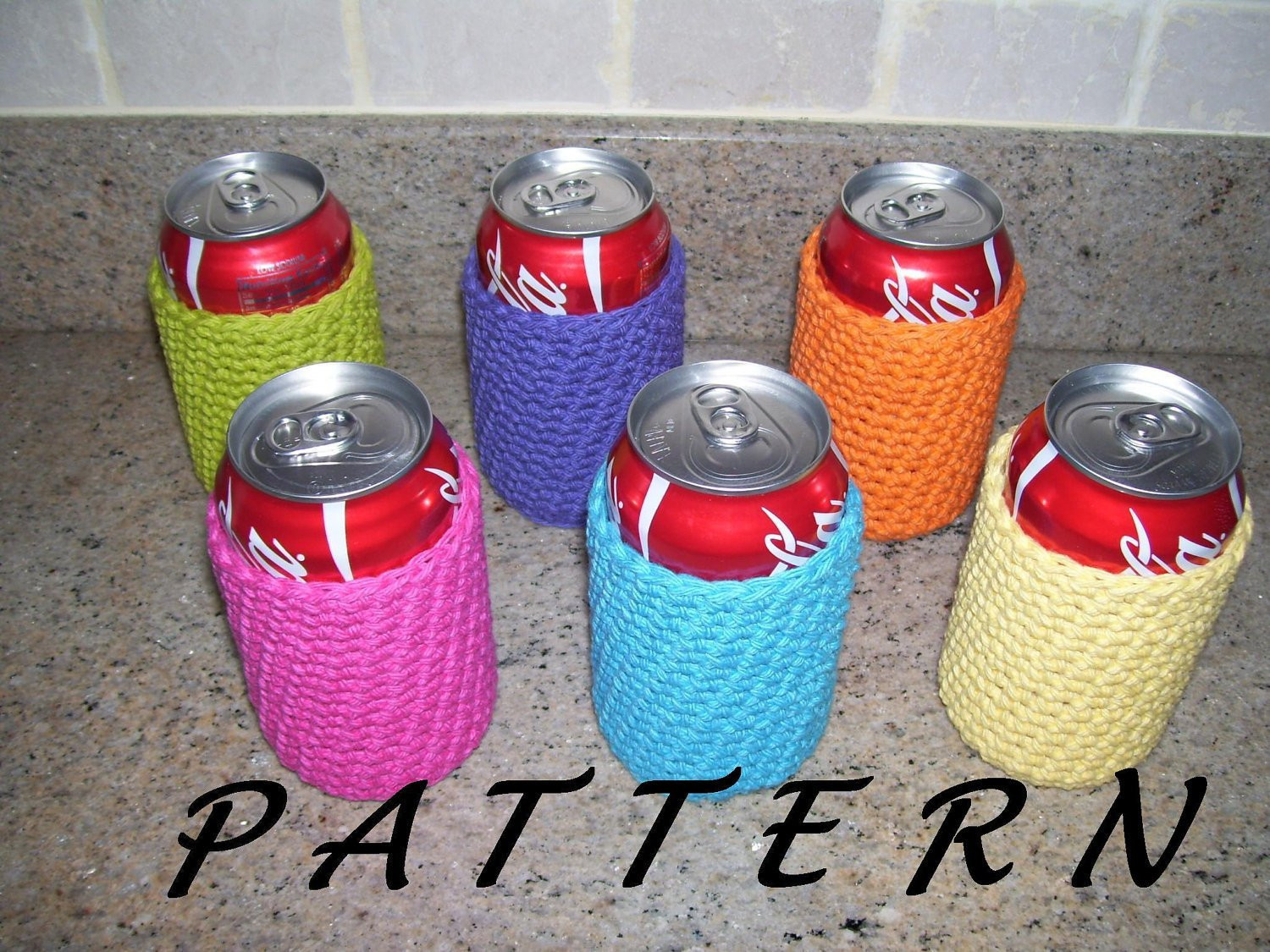 Unique Can Cozy Beer Cozy Pattern From Amieq On Etsy Studio Can Cozy Of Wonderful 48 Pictures Can Cozy