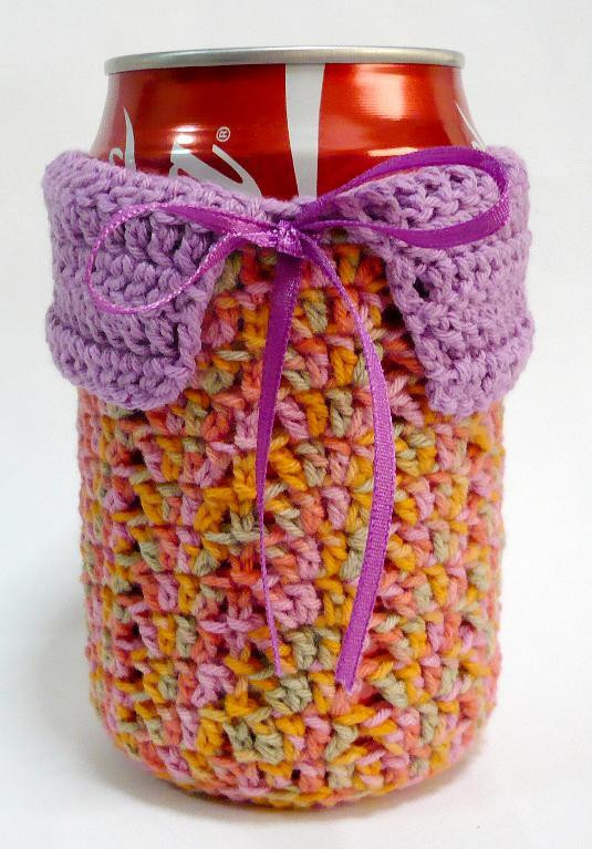 Unique Can Koozie Crochet Pattern Quesatelretqv Blog Can Cozy Of Wonderful 48 Pictures Can Cozy