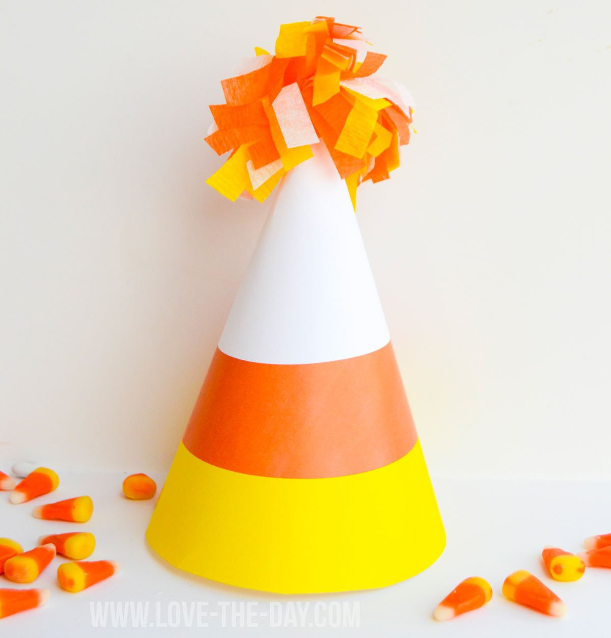 Unique Candy Corn Printable Party Hat Instant Download by Love the Candy Corn Hat Of Incredible 42 Pictures Candy Corn Hat