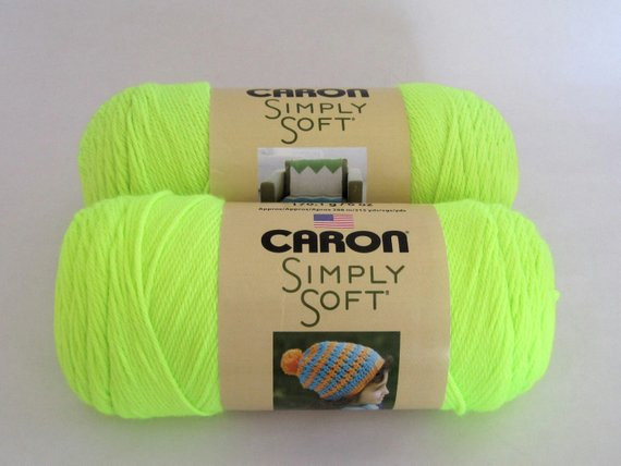 Unique Caron Simply soft Yarn Color Neon Yellow by Talicakecrochet Caron Simply soft Colors Of Innovative 41 Images Caron Simply soft Colors