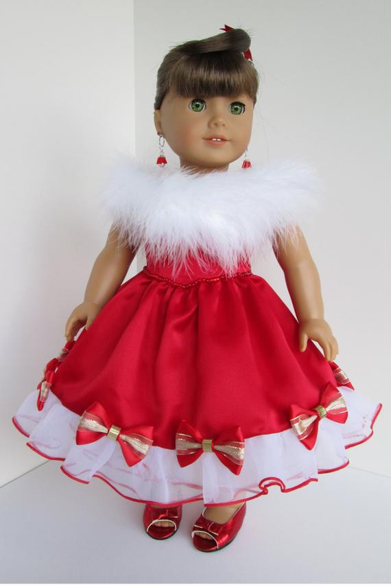 Unique Carrot and Claire 12 D O N 5 Our Favorite Etsy American Girl Christmas Dress Of Lovely 47 Models American Girl Christmas Dress