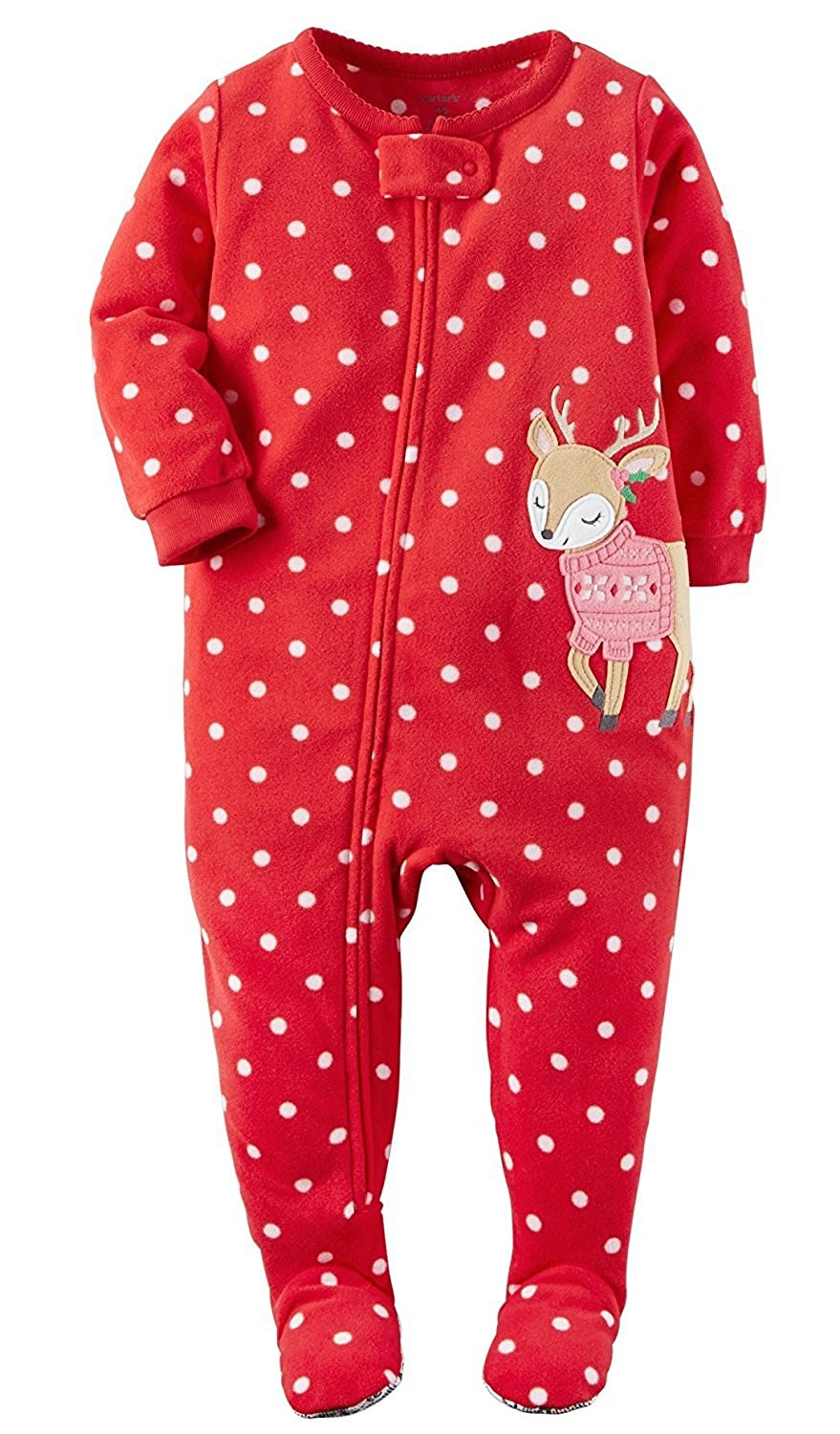 Unique Carter S Baby Girls 1 Piece Footed Fleece Pajamas Pj S Baby Pajamas with Feet Of Delightful 40 Photos Baby Pajamas with Feet