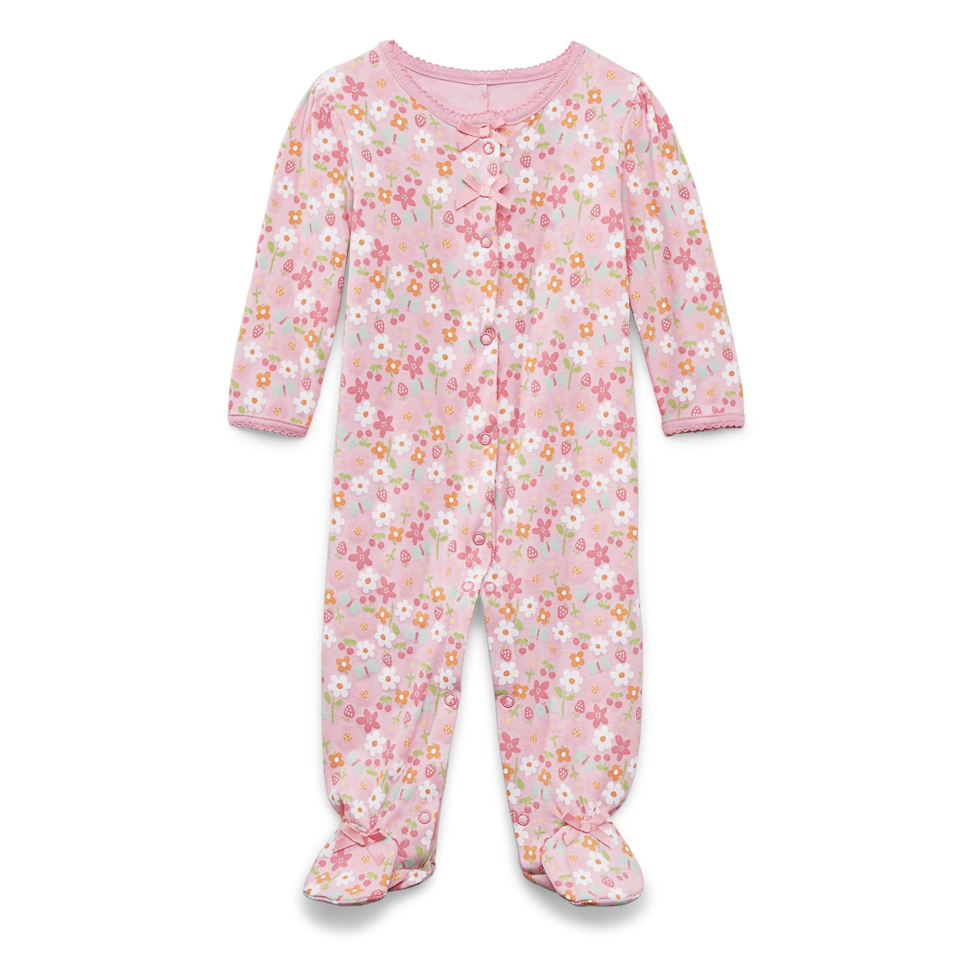 Carter s Infant & Toddler Girl s Footed Sleeper Pajamas