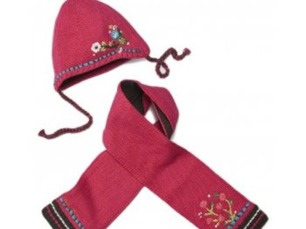 Unique Catimini Clothing Baby Girls Raspberry Hat and Scarf Set Children's Scarves Of New 48 Pictures Children's Scarves