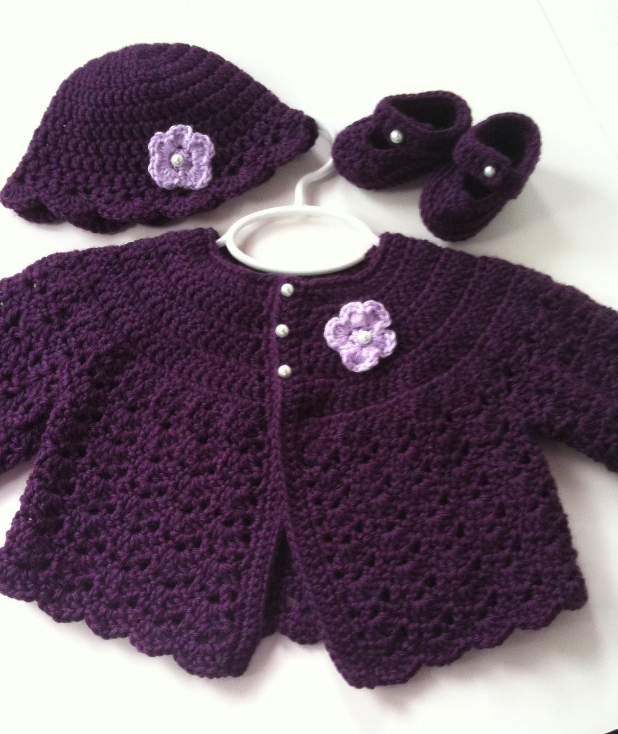 Unique Chandeliers & Pendant Lights Crochet Baby Sweater Sets Of Charming 43 Photos Crochet Baby Sweater Sets