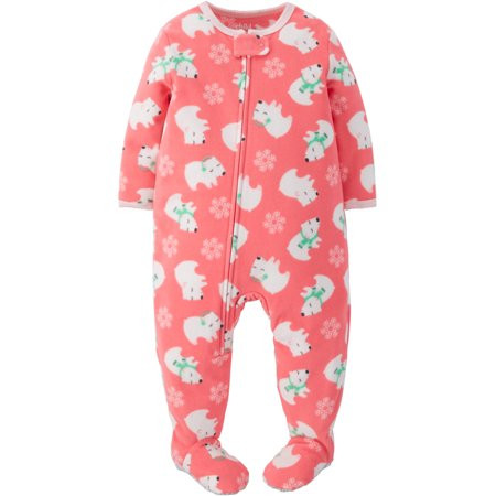 Unique Child Mine by Carter S Baby toddler Girl Fleece Footed Baby Pajamas with Feet Of Delightful 40 Photos Baby Pajamas with Feet