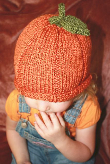 Unique Child S Pumpkin Hat Could Make One Of This for Each Of Knitted Pumpkin Hat Of Marvelous 40 Ideas Knitted Pumpkin Hat