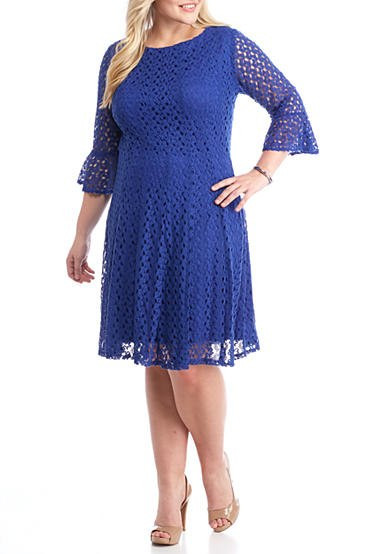 Unique Chris Mclaughlin Plus Size Crochet Fit and Flare Dress Plus Size Crochet Dress Of Attractive 46 Ideas Plus Size Crochet Dress